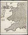 Occidentalior Regni Angliae districtus comprehendens principatum Walliae et Glocestriae ducatum comitatus et provincias Cornubiae, Devoniae, Somersethi, ... (8341891725).jpg