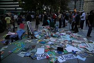 Occupy Philadelphia - Image: Occupy Philadelphia 2011