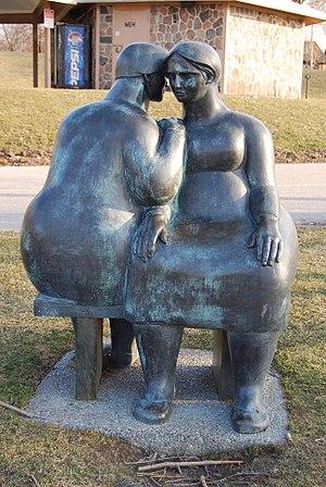 Joe Rosenthal (sculptor) - Image: Odette Sculpture Park Consolation 01