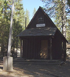 National Register of Historic Places listings in Mariposa County, California - Image: Office of the Acting Superintendent, Yosemite National Park
