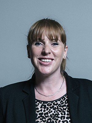 Angela Rayner - Image: Official portrait of Angela Rayner crop 2