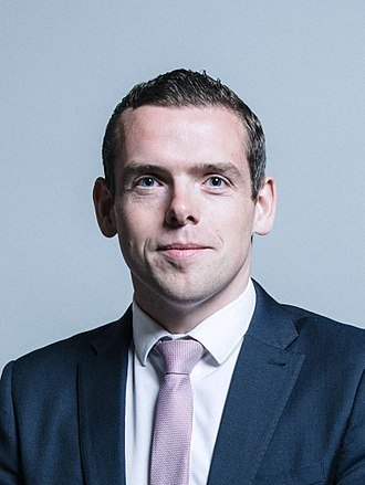 Douglas Ross (Scottish politician) - Image: Official portrait of Douglas Ross crop 2