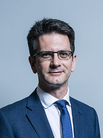 Steve Baker (politician) - Image: Official portrait of Mr Steve Baker crop 2