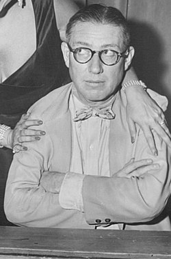 Ogden Nash Dagmar Masquerade Party 1955 (cropped).jpg