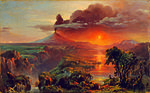 Oil Study of Cotopaxi Frederic Edwin Church.jpg
