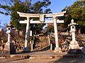 Okazaki Tenman-gu Torii 101201.jpg