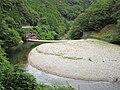 Okusato Dam and lake.jpg