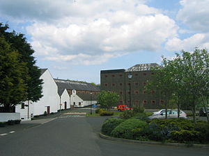 Old Bushmills Distillery - The distillery in County Antrim.