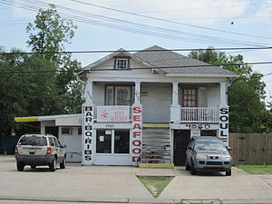 Gentilly section of New Orleans, June 2011. Ol...