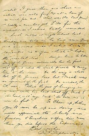 old letter!
