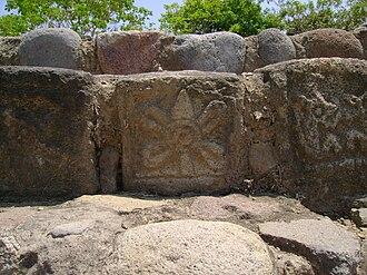 El Chanal - Ollín Petroglyph.