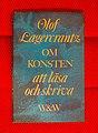 """Olof Lagerkrantz - """"Om konsten att läsa och skriva"""".jpg"""
