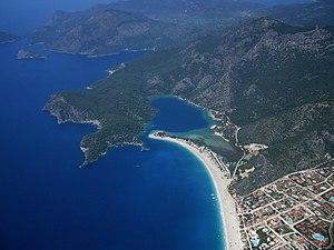 View of Ölüdeniz near Fethiye