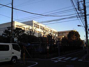 Ōmori, Ōta, Tokyo - Omori High School