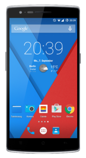 Android smartphone manufactured by OnePlus