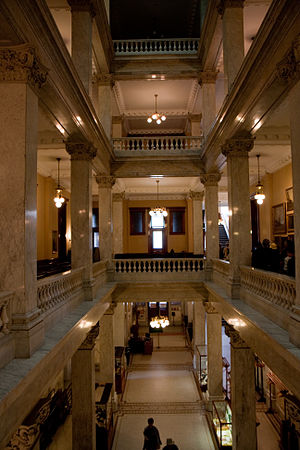 Ontario Legislative Building - Interior of the building's west wing