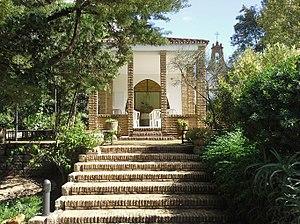 Sanctuary of Our Lady of Graces of Onuva - Image: Onuva La Capilla de la Virgen de las Gracias La Puebla del Río (Sevilla)