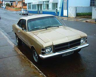 Chevrolet Opala - 1975-79 Chevrolet Opala coupé