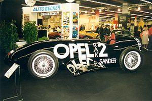 Rocket car - Opel RAK.2 rocket car