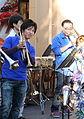 Open Air Trumpeter@GS, Akishima, 2007-11-18.jpg