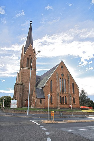 Orange, New South Wales - Holy Trinity Anglican Church