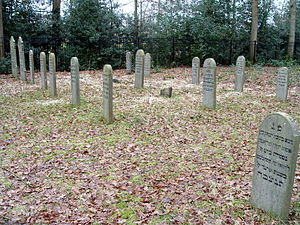 Oranjewoud - Jewish cemetery