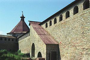 Εικόνα από το εσωτερικό του κάστρου.
