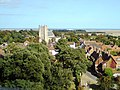 Orford village and St Bartholomew Church from Orford Castle Roof - geograph.org.uk - 1509389.jpg