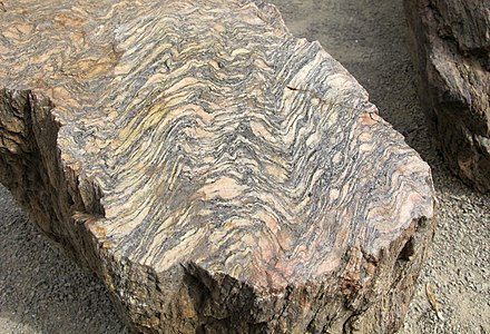 Orthogneiss from the Czech Republic Orthogneiss Geopark.jpg
