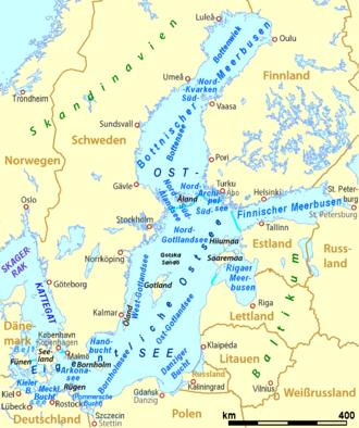wo liegt schwanitz ostsee karte Ostsee – Wikipedia