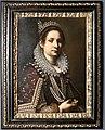 Ottavio leoni, ritratto di nobildonna con vestito elegante, 1600-30 ca.jpg