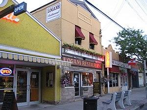 Ottawa Street (Hamilton, Ontario) - Ottawa Street North, Textile district