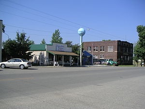 Ottertail, Minnesota - Looking southwest along Main Street (State Hwy. 108)