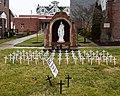 Our Lady of Mount Carmel Church (Buckeye Lake, Ohio) - Respect Life display.jpg