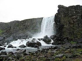 Водопад эхсараурфосс исландия