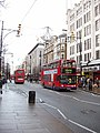 Oxford Street with red double-decker buses - geograph.org.uk - 104414.jpg