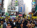 Hong Kong march for universal suffrage