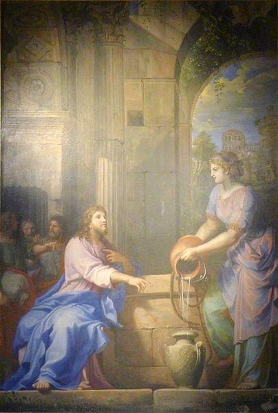 Fichier:P1340347 Paris XII ND Bercy Stella Christ et samaritaine rwk.jpg