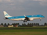 PH-EXF KLM Cityhopper Embraer ERJ-190STD (ERJ-190-100) landing at Schiphol (EHAM-AMS) runway 18R pic4.JPG