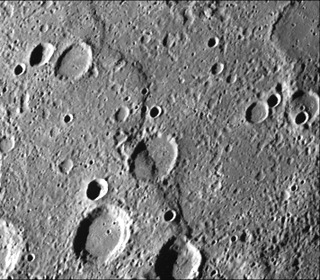 Inter-crater plains on Mercury