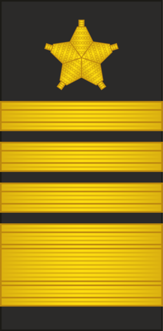 Ranks of the People's Liberation Army Navy - Image: PLANF Sleeve 0720 GEN