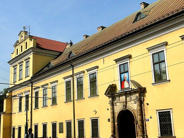 Palais des Eveques à Cracovie. Photo de Mateusz Giełczyński.