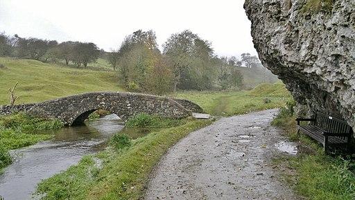 Packhorse bridge in Derbyshire