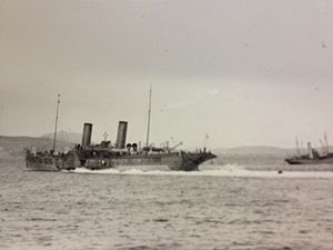 SS Prince of Wales (1887) - Prince Edward on wartime service