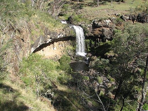 Paddy River Falls out side Tumbarumba NSW 05-01-2009