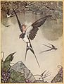 Page facing 64 of Andersen's fairy tales (Robinson).jpg