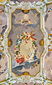 Painted ceiling of the throne room of Pope Pius VI in Rocca Abbey (Subiaco).jpg