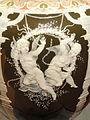 Pair of Vases, view 3, Marc-Louis-Emmanuel Solon, Minton factory, England, 1880, porcelain, polychromy, gilding, bronze bases - Mount Holyoke College Art Museum - DSC04601.JPG