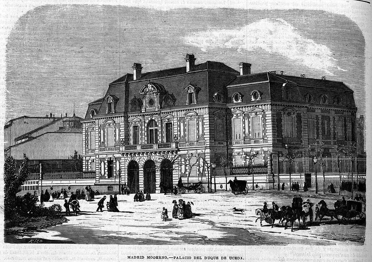 Palacio del duque de uceda plaza de col n wikipedia - Muebles epoca salamanca ...