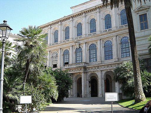 Palazzo Barberini facciata due